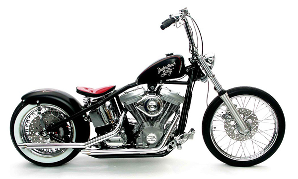 custom chopper bobber