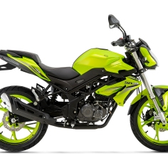 BN125 verde lima