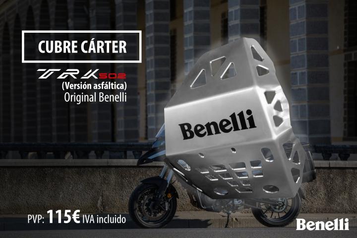 cubre carter Benelli trk 502